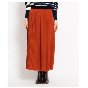 Dessin(Ladies)(デッサン(レディース))【Sサイズあり】ジョーゼットプリーツスカート