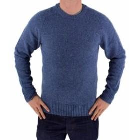 Levis リーバイス ファッション トップス NEW NWT LEVIS MENS PREMIUM CLASSIC WOOL SWEATER MSRP:$98.00 BLUE 644590001