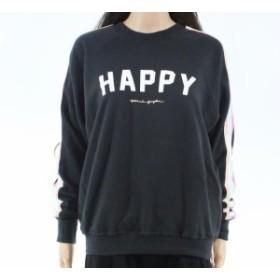 Spiritual  ファッション トップス Spiritual Gangsta Womens Sweater Gray Size Small S Pullover Happy