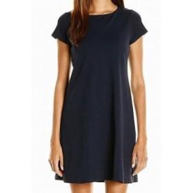 Susana Monaco スサナモナコ ファッション ドレス Susana Monaco NEW Navy Blue Womens Size Large L Solid T-Shirt Dress