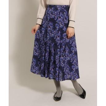 anatelier(アナトリエ) センターギャザーフラワースカート