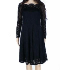 ファッション ドレス Missmny Womens Black Size Small S Off-Shoulder Lace A-Line Dress