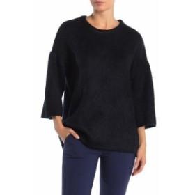 ファッション トップス Catherine Malandrino NEW Blue Womens Size Medium M Crewneck Sweater
