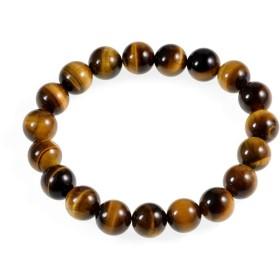 AD Beads 天然宝石 ラウンドビーズ ストレッチブレスレット ヒーリング レイキ 10mm AD Beads