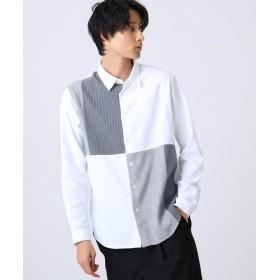tk.TAKEO KIKUCHI(ティーケー タケオ キクチ) フランネルパッチワークシャツ