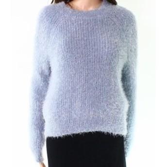 Pink Rose ピンクローズ ファッション トップス Pink Rose NEW Blue Chill Womens Size Medium M Eyelash Pullover Sweater