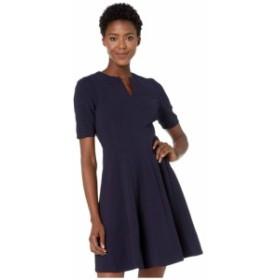 マギーロンドン Maggy London レディース ワンピース ワンピース・ドレス Metro Knit Fit and Flare Dress Navy