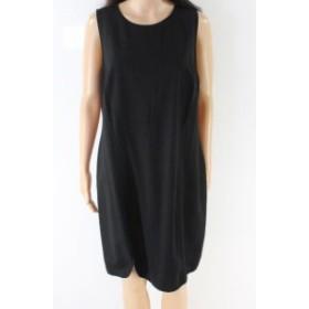 Tart タルト ファッション ドレス Tart NEW Black Womens Size 1X Plus Seamed Scoop Neck Sheath Dress