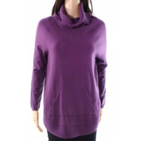 ファッション トップス Vila Milano NEW Wineberry Purple Womens Size Medium M Turtleneck Sweater
