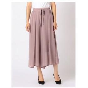 MEW'S REFINED CLOTHES(ミューズ)ウエストリボンワイドパンツ