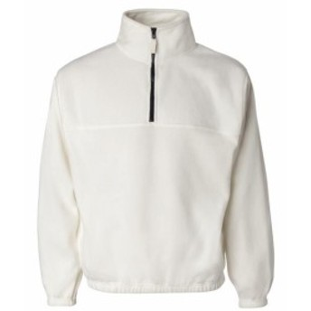 Pacific  ファッション トップス Sierra Pacific Mens Quarter Zip Poly Fleece Pullover 3051 S-4XL