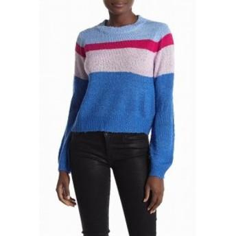 Ten Sixty Sherman テンシックスティシャーマン ファッション トップス Ten Sixty Sherman Womens Blue Size XL Striped Pullover Sweate