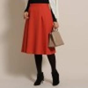 【SS-Lサイズあり】LINON 膝丈フレアスカート