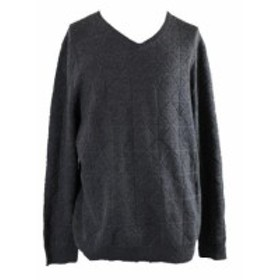 Alfani  ファッション トップス Alfani Charcoal Mercerized Wool Sweater XXL