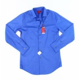 Alfani  ファッション ドレス Alfani NEW Royal Blue Mens Size XS Spectrum Slim Fit Stretch Dress Shirt