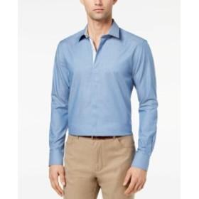 Pastel  ファッション ドレス SYAN SEACREST DISTINCTION NEW Pastel Blue Mens Size 2XL Slim Fit Shirt
