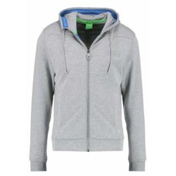 BOSS ボス ファッション トップス Hugo Boss Mens Premium Zip Up Sport Hoodie Sweatshirt Track Jacket 50333978