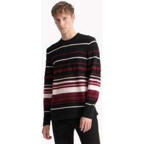 【Theory】Cashmere 3 Hilles Stripe