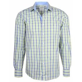 Modern  ファッション ドレス Berlioni Italy Mens & Boys Premium Yarn Dyed Luxe Cotton Dress Shirt Modern Fit