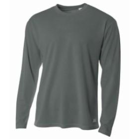 スポーツ用品 ベースボール A4 Mens Long Sleeve Mesh T-Shirt