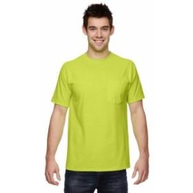 Pocket  ファッション トップス Fruit of the Loom Mens Heavy Cotton HD Pocket T-Shirt 3931P (2 PACK) All Sizes