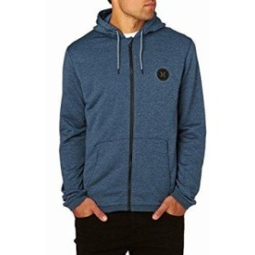 Hurley ハーレー ファッション トップス Hurley Mens Dri-FIT Disperse Fleece Full Zip Hoodie Sweatshirt