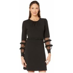 マイケル コース MICHAEL Michael Kors レディース ワンピース ワンピース・ドレス Scuba Mesh Mix Dress Black