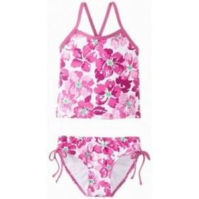 スポーツ用品 スイミング Kanu Surf NEW Purple Girls Size 12 Tankini Set Floral Printed Swimwear #433