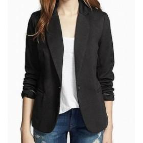 Blazer ブレザー ファッション 衣類 Olivia Moon Womens Blazer Faux-Welt Pockets Black Size XL Knit