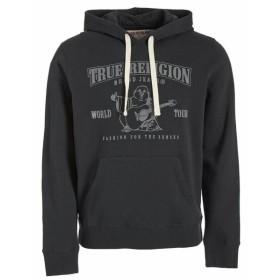 Religion  ファッション トップス True Religion Mens Buddha Logo Pullover Hoodie Sweatshirt