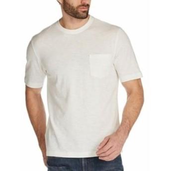 Weatherproof ウォータープルーフ ファッション トップス Weatherproof NEW White Mens Size Medium M Crewneck Pocket Tee T-Shirt