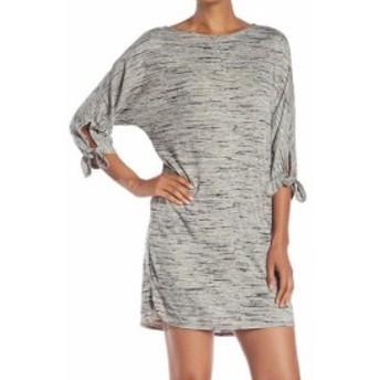 max マックス ファッション ドレス Max Studio Womens Gray Size Small S Space Dye Tie Sleeve Sweater Dress