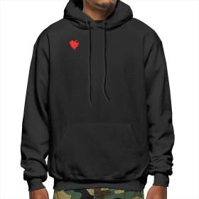 Shamp スウェットシャツ バンクシー Banksy 長袖 メンズ パーカー トップス フード付き ポケット 無地 かっこいいフード付 カジュアル 春秋 男女兼用Black