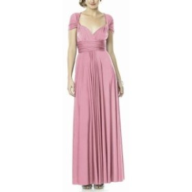 Dessy Collection ドレッシーコレクション ファッション ドレス Dessy Collection NEW Pink Womens Size Medium M Ruched Gown Dress