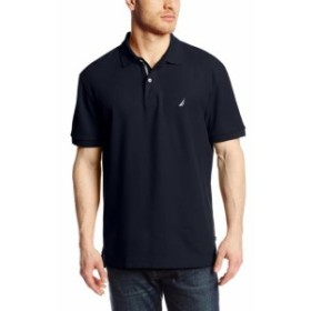nautica ノーティカ ファッション アウター Nautica Mens Black Size XL Classic Fit Performance Polo Rugby Shirt