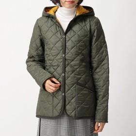 LAVENHAM ラベンハム CRAYDON LADIES c5 クレイドン 中綿 キルティング ジャケット フーテッド コート 0046/GREEN レディース