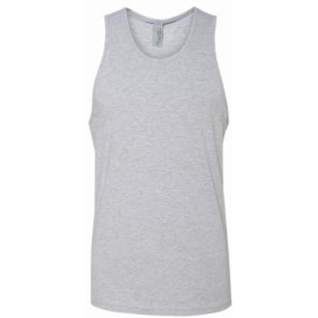 level レベル ファッション トップス Next Level Apparel New Mens 100% Cotton Plain Jersey Tank Top 9 Colors S-XL