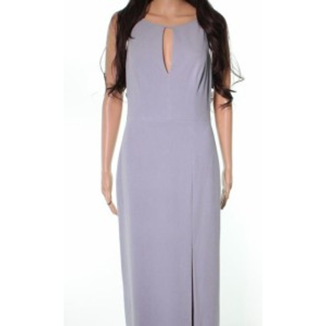 after アフター ファッション ドレス After Six NEW Gray Platinum Keyhole Womens Size Small S Evening Gown
