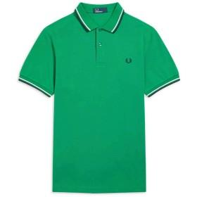 FRED PERRY(フレッドペリー)2019春夏 ポロシャツ 半袖 メンズ TWIN TIPPED FRED PERRY SHIRT M3600 PRIVET(330) XL [並行輸入品]