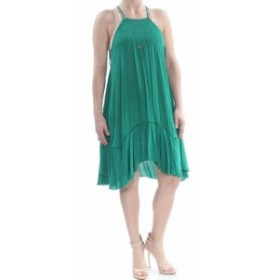 Free People フリーピープル ファッション ドレス Free People Womens Green Size XS Floral Embroidered Shift Dress