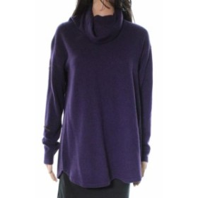 ファッション トップス Griffen NEW Purple Pullover Women Small S Cowl Neck Cashmere Sweater