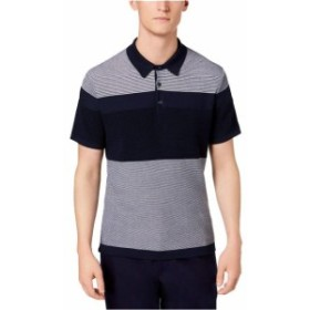 Michael Kors マイケルコルス ファッション アウター Michael Kors NEW Blue Mens Size Small S Colorblock Polo Rugby Shirt