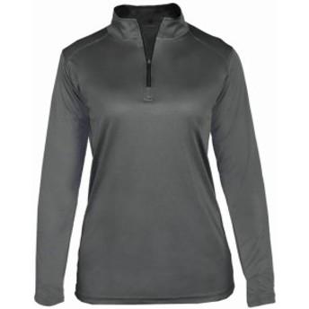 スポーツ用品 ベースボール Badger Womens B-Core 1/4 Zip Pullover