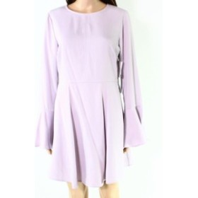 bell ベル ファッション ドレス Chelsea28 NEW Purple Womens Size Small S Bell Sleeve Sheath Dress