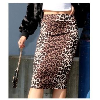 ANAP(アナップ)【ANAP USA】2カラーレオパードタイトスカート