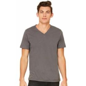 ファッション トップス Bella + Canvas Unisex Jersey Short Sleeve V-Neck Tee C3005
