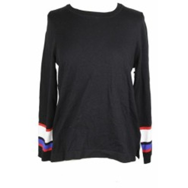 Vince ヴィンス ファッション トップス Vince camuto black colorblocked sweater cotton m