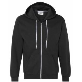 ファッション トップス Anvil Mens Full Zip Hooded Fleece 71600 M-3XL