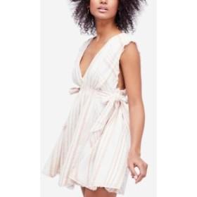 Free People フリーピープル ファッション ドレス Free People Womens White Ivory Size Large L Embroidered Sheath Dress