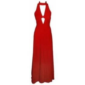 Jill Jill Stuart ジルジルスチュワート ファッション ドレス Jill Jill Stuart Tangerine Sleeveless Cutout Collared Gown 2